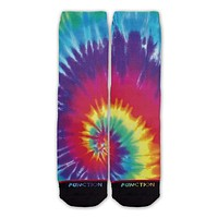 Function - Tie Dye Fashion Socks