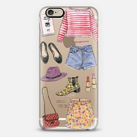 Alexa Chung <3 by Cindy Mangomini iPhone 6 case by hellogiggles | Casetify