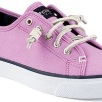 Sperry Top-Sider Seacoast Canvas Sneaker OrchidCanvas, Size 9.5M  Women's Shoes