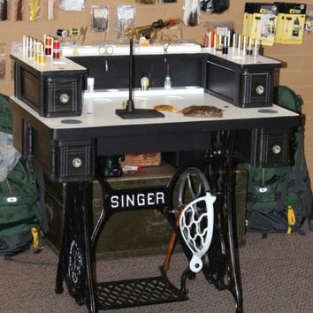 Fly Tying Desk, Fly Tying Station