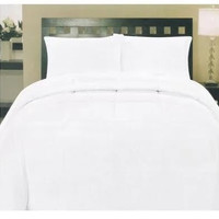 Cozy Home Down Alternative 8 Piece Embossed Comforter Set - White (King)