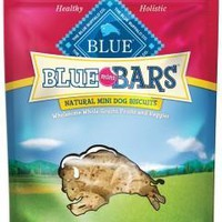 Blue Buffalo Bars Banana & Yogurt Dog Mini Biscuits 8oz