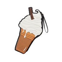 Vanilla Ice Cream Cone Clutch
