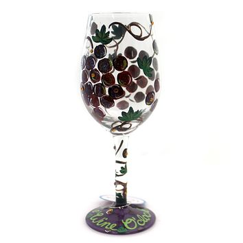Tabletop IT'S WINE O'CLOCK LOLITA Glass Relax Wine Glass 4056856