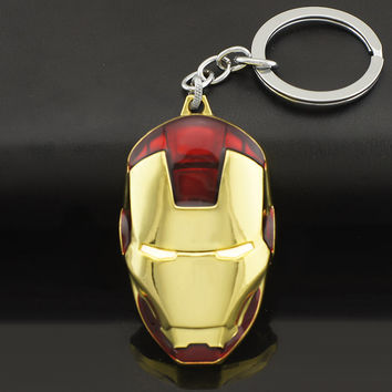 Ironman Iron Man Warhammer Avengers Marvel Heroes Comic Keychain key Chain Ring Gift Christmas Boyfriend Girlfriend