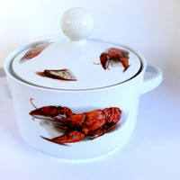 Lobster Soup Tureen Josef Kuba