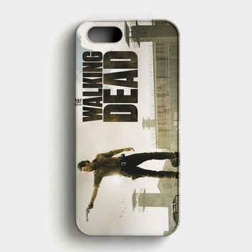 The Walking Dead Vintage Poster iPhone SE Case