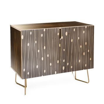 Heather Dutton Gray Entangled Credenza