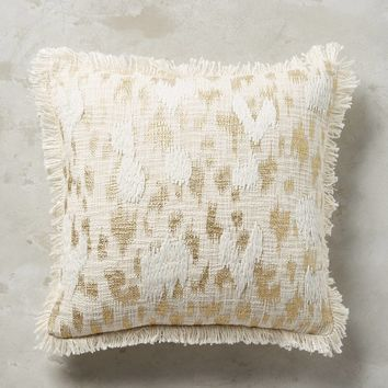 Foil & Fringe Pillow