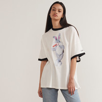 Little Sunny Bite x Looney Tunes Old Fashion Bugs Bunny T-shirt - Little Sunny Bite - Featured - Womens