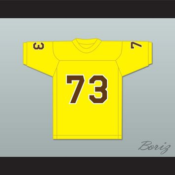Awkwafina 73 Yellow Football Jersey
