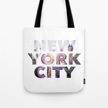 New York City Tote Bag by g-man