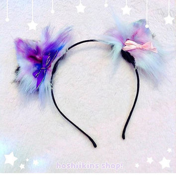 Galaxy Kitten Ears