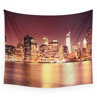 Society6 NYC Skyline Wall Tapestry