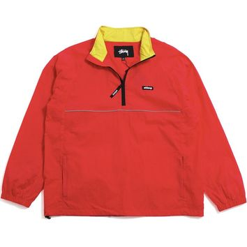 Sport Pullover Jacket Red
