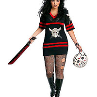 Friday the 13th Miss Voorhees Adult Womens Plus Size Costume - Spirithalloween.com