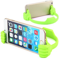 Novelty Hand Design Clip Bracket Flexible Phone Stand Holder for iPhone 6 Samsung Galaxy S5 = 1841741188