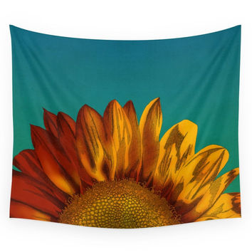 Society6 A Sunflower Wall Tapestry