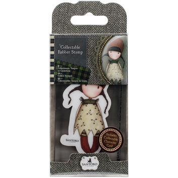 Santoro Rubber Stamps-No. 19, Holly