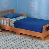 Slatted Toddler Bed - Honey - KidKraft