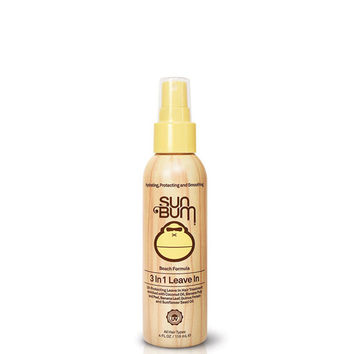 Sun Bum Beach Formula 3-In-1 Leave In Conditioner (4Oz) Yellow One Size For Women 26515960001