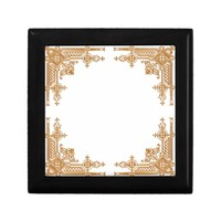 Golden Lattice design Gift Boxes