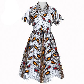 African Dresses For Women Dashiki Clothes
