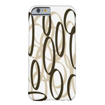 Uncommon Abstract Art Barely There iPhone 6 Case