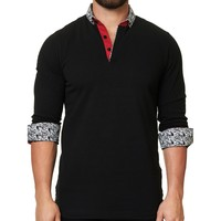 Maceoo Polo shirt - Polo L Solid Black