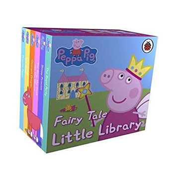 Peppa Pig Little Library 6 Books for Little Hands - Fairy Tale