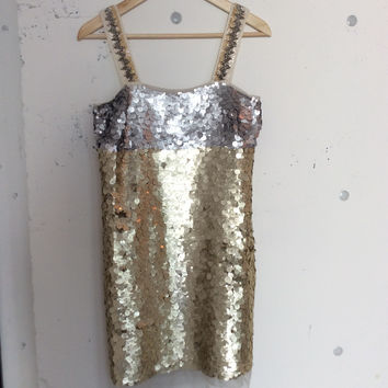 Vera Wang Holiday Sequin Dress (Vera Wang Lavender)