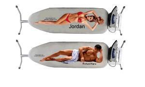 Iron board cover naked