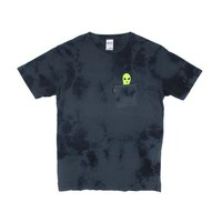 LORD ALIEN POCKET TEE (BLUE LIGHTNING WASH) | RIPNDIP