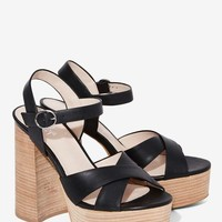 Shellys London Gretchen Leather Platform