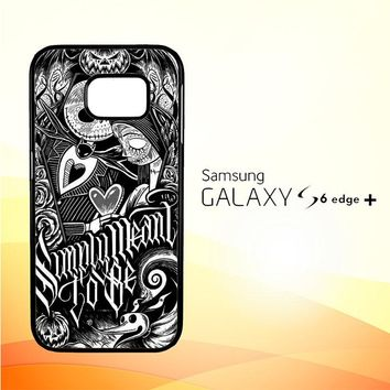 Jack And Sally Muertitos The Nightmare Before Christmas F0874 Samsung Galaxy S6 Edge Plus Case