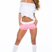 Bliss Shorts - Pink Glow