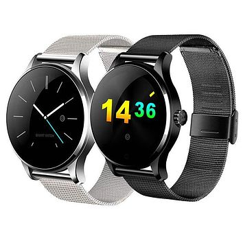 Bluetooth Smart Watch Heart Rate Monitor Sync Phone Call Message Men Women Wrist Smartwatch