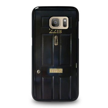 the door of sherlock holmes samsung galaxy s7 case cover  number 1