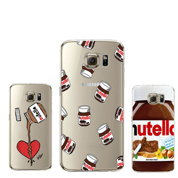 Cute Silicone Case For Coque iPhone 4 4S 5 5C 5S SE 6 6S 7 Plus For Samsung Galaxy Grand Prime A3 A5 J1 J5 2016 Cover S5 S6 S7