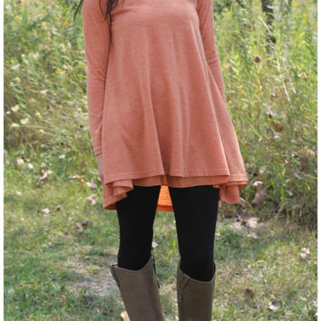 Layer Flare Tunic
