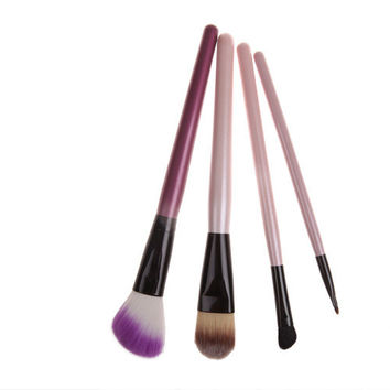 4-pcs Portable Make-up Brush = 4831028548