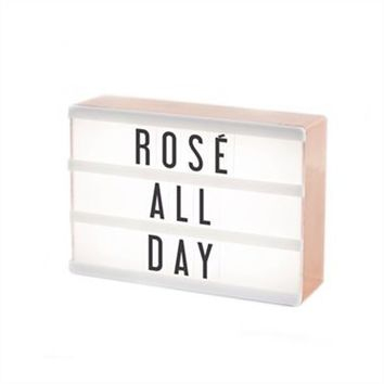 My Cinema Lightbox – Rose Gold by My Cinema Lightbox | Lamps Gifts | chapters.indigo.ca