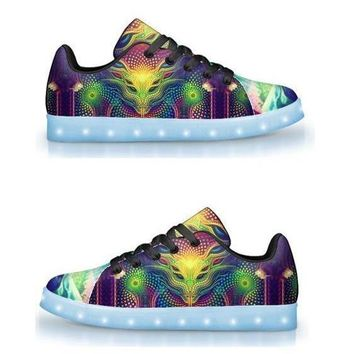Padawan by Salvia Droid - APP Controlled Low Top LED Shoes