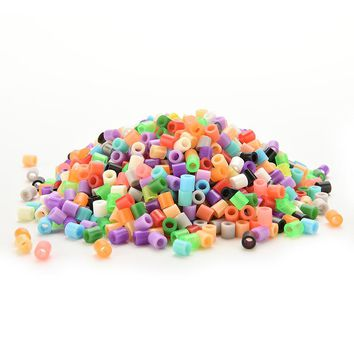 500 Pcs / Pack 5 mm Hama Beads/ Perler Beads Intelligence Educational Toys Craft Handmaking Bead