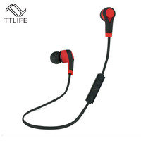 TTLIFE Bluetooth Headset Wireless Earphone Headphone Bluetooth Earpiece Sport Running Stereo Earbuds With Microphone Auriculares