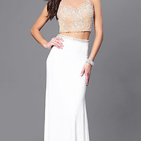 Dresses, Formal, Prom Dresses, Evening Wear: DJ-A4093