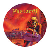 Megadeth Official Store | Peace Sells Picture Disc Vinyl