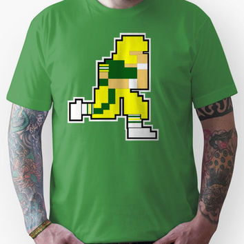 Nintendo Tecmo Bowl Green Bay Packers Aaron Rodgers Unisex T-Shirt