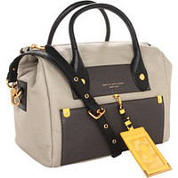 Marc by Marc Jacobs Preppy Leather Colorblocked Pearl