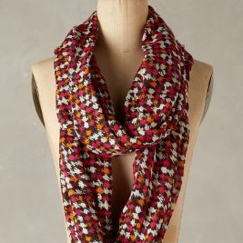 Houndstooth Infinity Scarf by Anthropologie